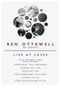 BenOttewell Loves Poster